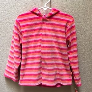 Magnificent Baby Jacket Magnetic Velour Stripe